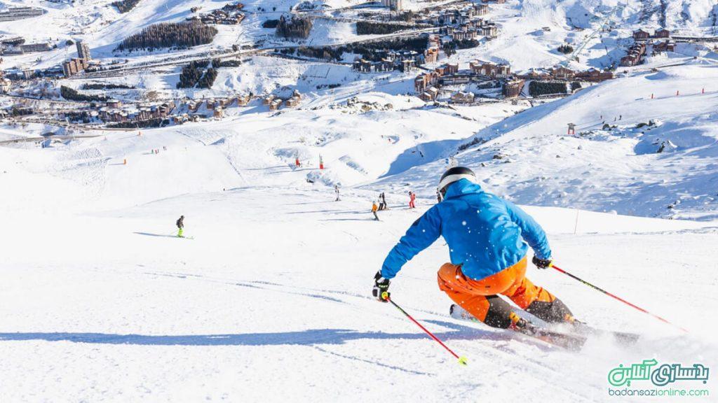 پیست های اسکی