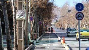 مسیر دوچرخه شیراز