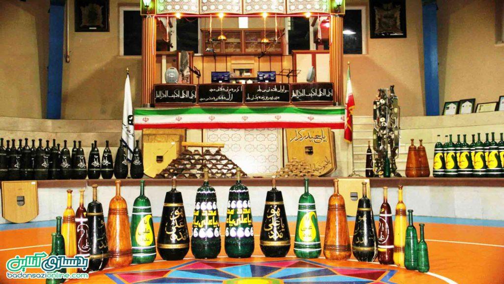زورخانه در شیراز
